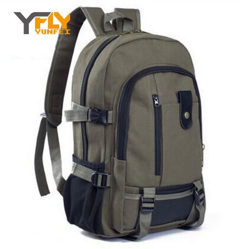 2016 Hot Selling Men's Canvas Backpacks Women Men Vintage Canvas Backpack Rucksack School Bags Satchel Men's Travel Bags DB3830(China (Mainland))