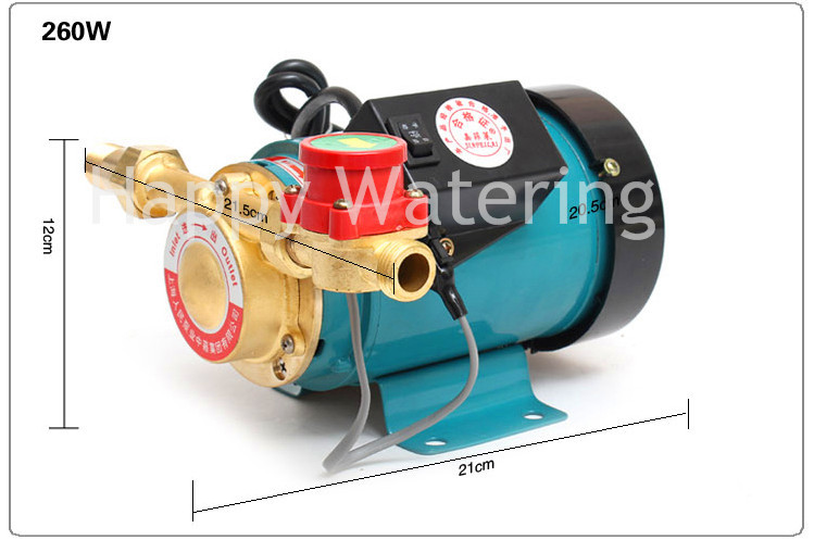 260W Automatic Water Heater Solar Water Pressure Booster Pump(China (Mainland))