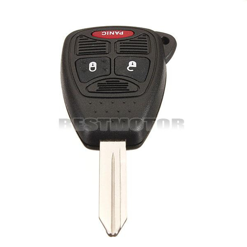 Remote Head Ignition Key Keyless Entry Combo Clicker Fob Replacement 3 Buttons for Chrysler /Jeep /Dodge<br><br>Aliexpress
