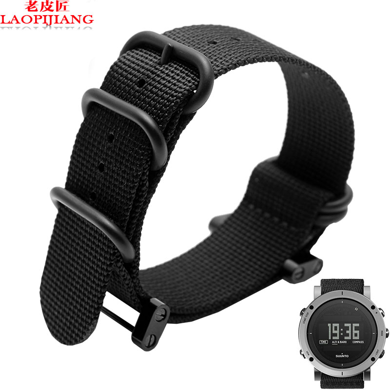 Laopijiang suunto essential source Sunto song Billiton watch band nylon watchband sports preferred(China (Mainland))