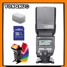 Buy Yongnuo YN685 Wireless Flash Speedlite ETTL /M / Multi GN60 HSS 2.4HZ 1/8000s Canon 6D 550D 60D 650D 70D DSLR Camera +3Gifts for $109.50 in AliExpress store