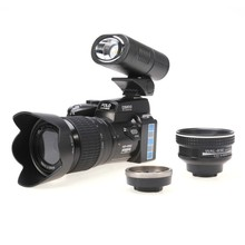 New D3200 digital camera 21X optical zoom 16MP interpolated Professional camera camcorder HD LED headlamps HD camera(China (Mainland))