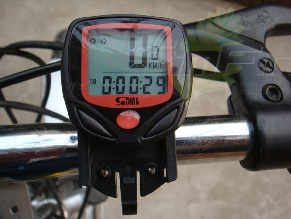 Cycling Computeer Bike Waterproof Stopwater Odometer Speedometer With LCD Display Riding Bike Bicycle Computer Bike Equipment<br><br>Aliexpress