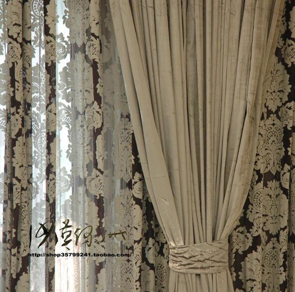 Cortinas De Baño La Plata:Lujo moderno breve cortina de color sólido gris plata de cortina de