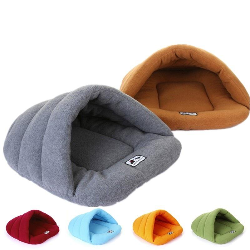 pet cat bed small dog puppy Kennel sofa pet mat cat house cat sleeping bag winter