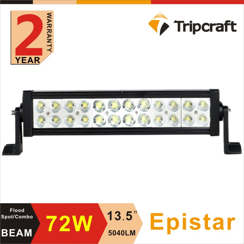 13.5 inch 72W Epistar LED Work Driving Light Lamp Bar Combo Beam Offroad Light 12V 24V For ATV SUV 4WD 4X4 Hunting Truck Tractor<br><br>Aliexpress