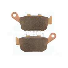 Motorcycle Brake Parts Brake Pads For TRIUMPH Street Triple R 675 2009-2010 Rear Motorbike Brake disks #FA140