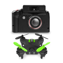 DHD D2 MINI RC Quadcopter With 2.0MP HD Camera Headless Mode Drone RTF One Key To Return Left Hand Throttle Support SD Card