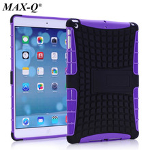 New Design 2 in 1 Hybird Armor Case for iPad Mini 4 Hit color Slim PC Rugged Protective Skin for Cover Case iPad Mini 4 Funda(China (Mainland))