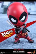 HOTTOYS HT COSBABY Mini Q Edition Deadpool Figure Cosplay Anime Action Figure Juguetes Model Hot Kids Toys 10cm Free Shipping