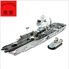Kids Toys Educational Building Blocks Model Set Classic Military Equipment  Aircraft carrier  Boat Model  Toys Gift For Children<br><br>Aliexpress