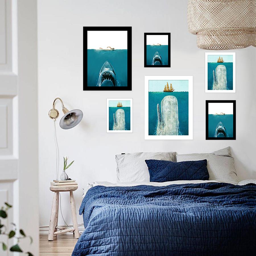 Photos de requins pour imprimer achetez des lots petit for Requin decoration