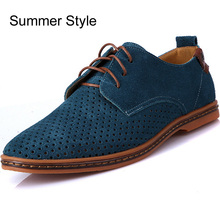 OneBling Hot Sale Men Shoes 2016 Spring Autumn Winter Warm Suede Leather Casual Shoes Mens Oxfords Outdoor Flat Plus Size shoe(China (Mainland))