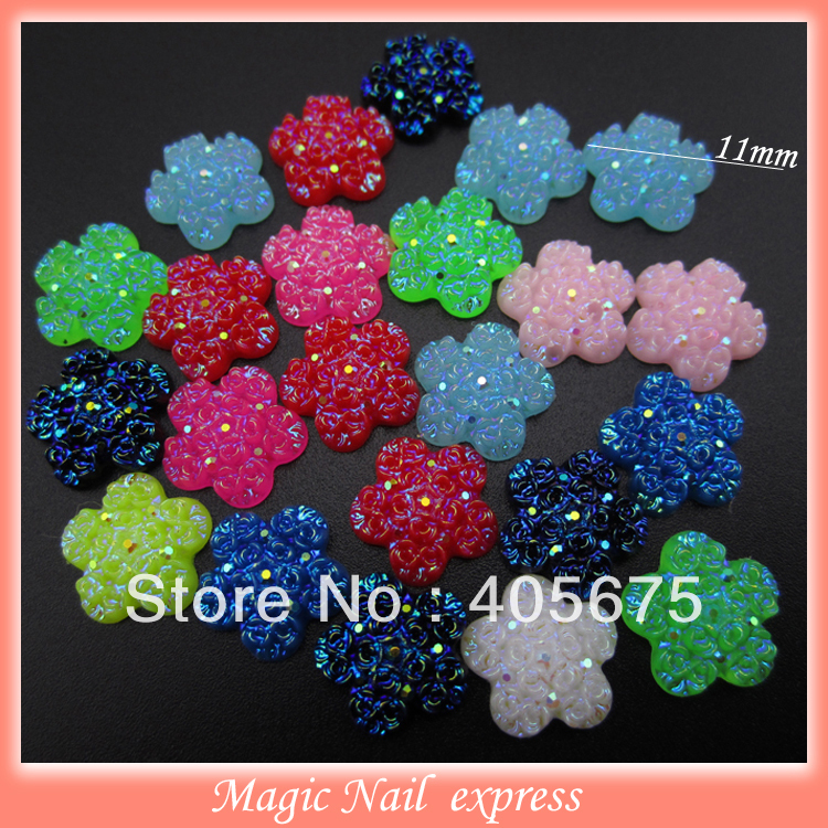 MIX new design glitters 3d nail art supplies flat back resin nail studs rose flower DIY charms nail decorations wholesale<br><br>Aliexpress