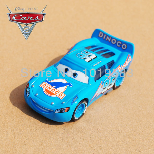 Brand New Original 1/55 Scale Pixar Cars 2 Toys Dream Version Lightning Blue #95 Racing Car Diecast Metal Car Toy Loose(China (Mainland))
