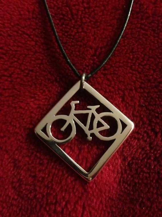 Geometric Bike Necklace Choker Necklace Bike Best Friend Necklace Collier Choker(China (Mainland))