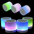 Portable Mini LED Bluetooth Speakers Wireless Small Music Audio TF USB FM Light Stereo Sound Speaker