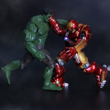 Buy Movie Figure 17 CM Avengers 2 Age Ultron Iron Man Hulkbuster PVC Action Figure Collectible Model Toy for $15.95 in AliExpress store