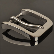 Retail Hot selling High quality Solid stainless steel Men's Belt Buckles Suitable 4cm Wide Belt Fashion mens Jeans accessories(China (Mainland))