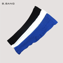 B.BANG Unisex Armband Long Arm Sleeve Barcer High Elastic Sport Climbing Elbow Pad for UV Protection 1 Pair(China (Mainland))