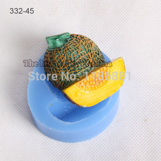 cookie cutter hami melon shape muffin sweet candy jelly fondant cake chocolate soap mold 3d baking pan decorating tools bakeware(China (Mainland))