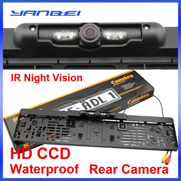 Hot Sell Rear View Camera European License Plate Night Vision For Rear View Camera ,parking camera(China (Mainland))