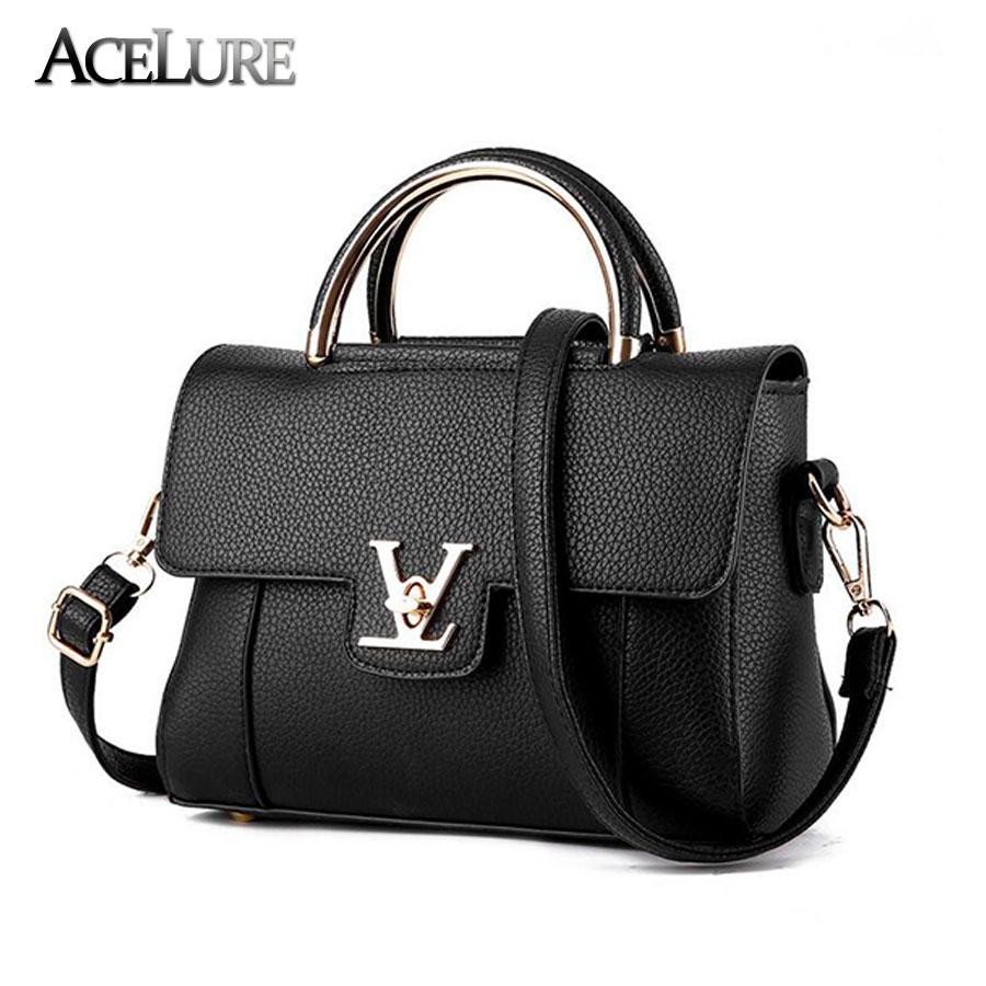 Women PU Leather Shoulder Bags Female Black Pink Messenger Bags Solid Zipper Top-Handle Bags Ladies Functional Crossbody Bags(China (Mainland))