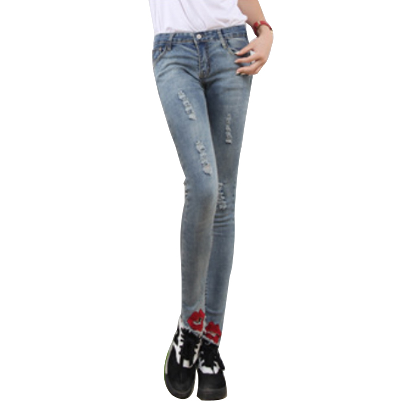 Creative Free Shipping 2014 Women39s Boot Cut Jeans Pants Female Light Blue