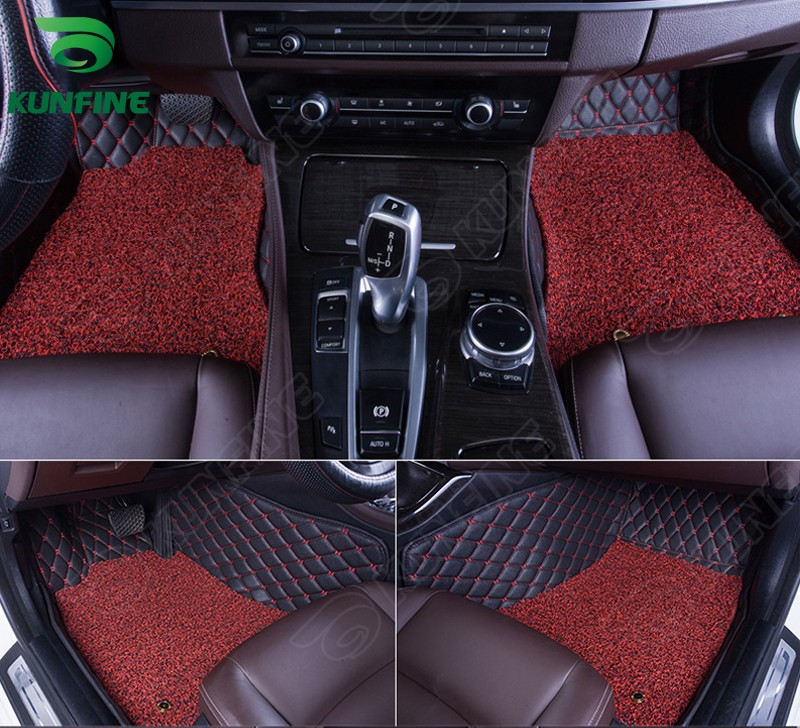 Top Quality 3D car floor mat for NISSAN TEANA foot mat car foot pad with Thermosol Coil Pad 4 colors Left hand driver(China (Mainland))