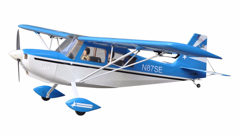 "Decathlon 72"" Glow & Electric model Plane 4 Channels ARF RC Balsa Wood Airplane(China (Mainland))"