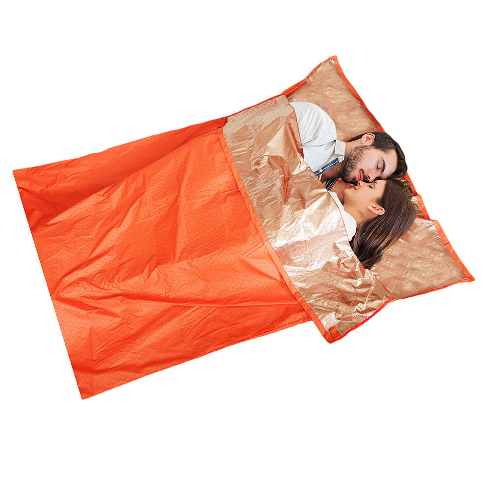 1-2 Person Emergency Bivvy Sleeping Bag Camping Outdoor Survival Adventure Medical 3 Types(China (Mainland))
