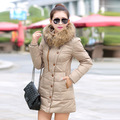 2016womenjacket and parks cotton long section padded jacket Korean version coat of loose women s winter