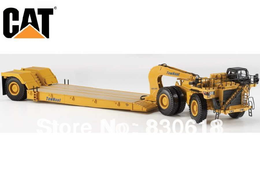 Norscot 55220 1:50 Caterpillar 784C Tractor w/Towhaul Lowboy Trailer Cat toy(China (Mainland))