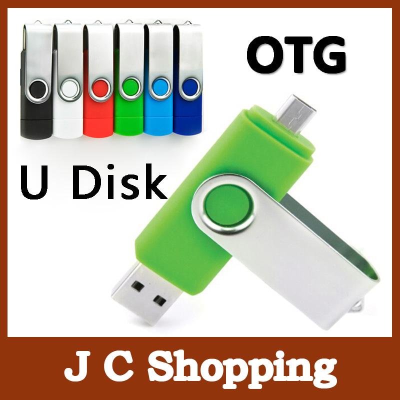 usb flash drive 64g pendrive 8gb 16gb 32gb smart phone mobile double port otg dual pen drive pendrive memory stick otg usb stick(China (Mainland))