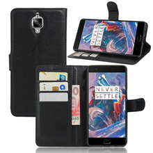 Oneplus 3T Case Leather Flip Back Cover 5.5 inches Stand Wallet - Ever Reliable Digital Store store