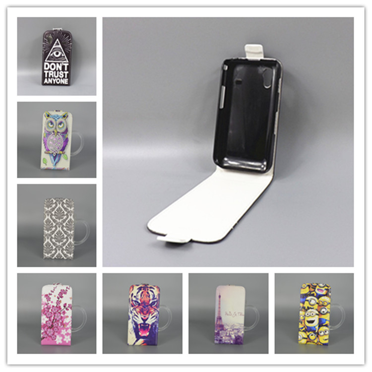 For Samsung Galaxy Ace S5830 GT S5830I gt-s5830i Hot Pattern Cute PrintingVertical Flip Cover Open Down/up Back Cover filp case()