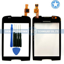 Black Touch Screen For Samsung Galaxy Mini S5570 GT-S5570 With Digitizer Panel Glass with Tools