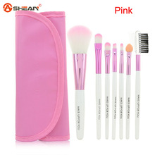 Brand New Fashion Professional 7 Pcs Makeup Brush Tools Beauty Make up Brush Set