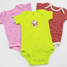 5PCS Lot 0M 24M Baby Boys Girls Romper Longsleeve Shortsleeve Sleeveless Jumpsuit Infant Clothing