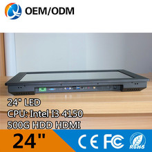 Buy 24 inch tablet pc industrial panel pc intel i3 4150 IR touch Resolution 1920x1080 2GB RAM 500G HDD for $978.11 in AliExpress store