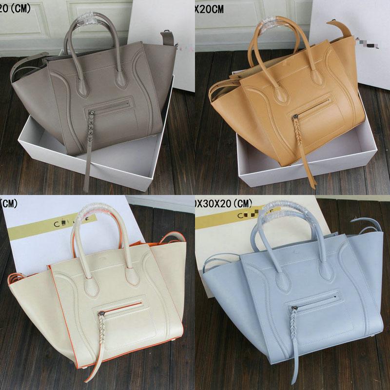 ... celine bag black and white - C  line Women Luggage Leather Handbag  Luggage be9ec3ea77c05