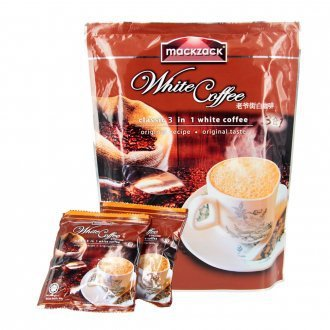 Malaysia white coffee master street 3 in 1 coffee drink 600 g free shipping