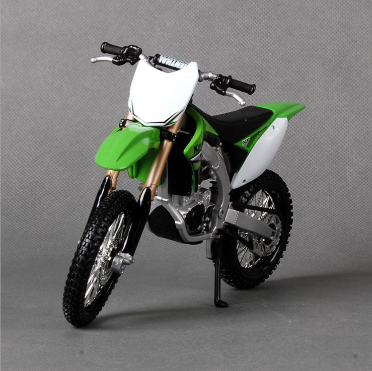 New MAISTO 1:12 brand kids Motorcycle KAWASAKI KX 450F Diecast model motor bike miniature metal models race toys collectibles(China (Mainland))