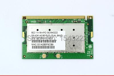 BroadCom BCM94322 BCM43222 Mini PCI WLAN WIFI Card for Acer Asus Toshiba Sony Gateway LG(China (Mainland))