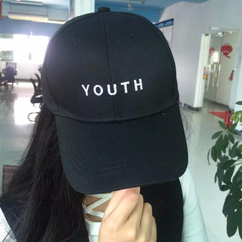 Punk Unisex 100% Cotton Baseball Cap Casual Outdoor Sport Letters Youth Embroidery Sunhat Snapback Casquette Gorras Adjustable