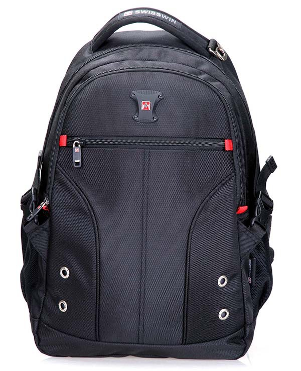"Swisswin 15 16"" laptop bag men women backpack double-shoulder bags wholesale price backpacks sw9016 2015 new brand cooler bag(China (Mainland))"