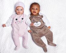 2016 Newborn 6 12 18 24 Months Romper Suit Baby Boy Girl Jumpsuit Playsuit Winter Wholesale(China (Mainland))