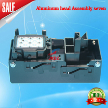 YT-Aluminum head Assembly Skycolor 6160 mirage Bai Jie piezoelectric photo machine inkstack Ruiteng ink ink cup frame station(China (Mainland))