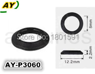 Free shipping! 3060 top new material 500pieces auto parts fuel injector repair kit plastic part pintle cap size12.2*2.2*8mm(China (Mainland))