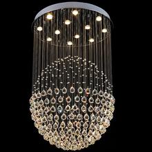 VALLKIN Crystal Chandeliers Lighting Fixtures Round Luxury Design for Indoor Deco Home Restaurant Hotel Study Bar Hotel(China (Mainland))